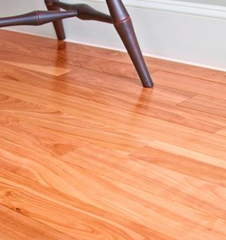 Natural Red Birch Solid Hardwood Flooring from MooseWood