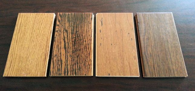 The importance of hardwood and laminate flooring samples for Hardwood floors examples