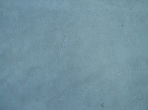 Concrete slab subfloor